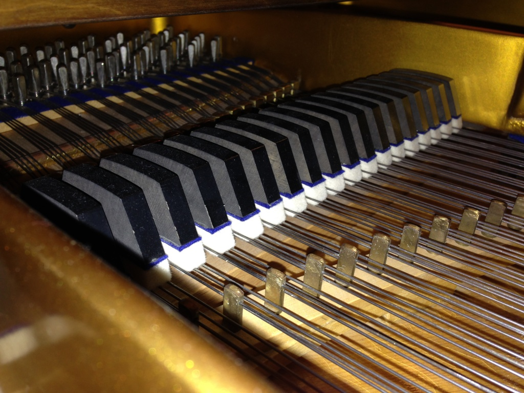 Piano care can protect your dampers and strings